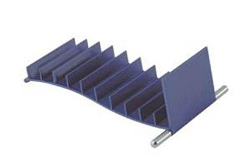 Ten Porta CD Mediterraneo Blu cod.EL6500 Blue cm 10x13,2x4,5h by Varotto & Co.