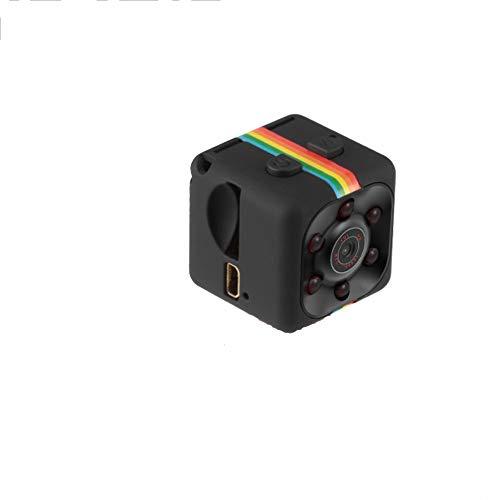 Teepao Mini Camara Espia, Mini CAM Surveillance Cámara Portable HD 1080P con Detección de Movimiento Visión Nocturna, Videograbador por Infrar Rojos Vigilancia Vigilar Su Casa - Negro