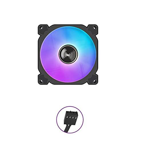 chaoxiner Ventilador de caja de 90 mm ARGB Sync, direccionable, RGB PWM, 4 pines, silencioso, refrigerador para CPU, 12 V, 4 pines
