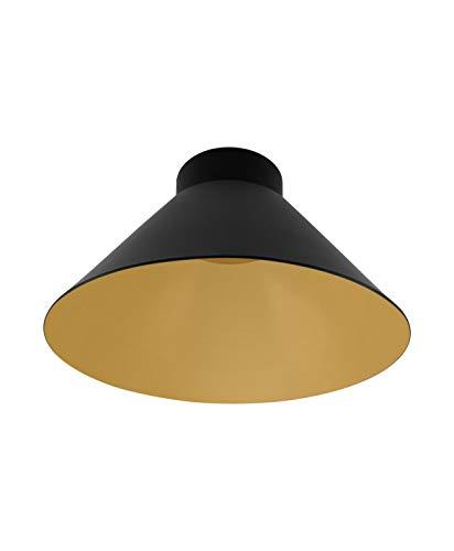 LEDVANCE Vintage Edition 1906, Lampenschirm Cone Schwarz&Gold, Zur Erweiterung Ihrer LEDVANCE Pendulum Leuchte, IP20, Aluminiumgehäuse
