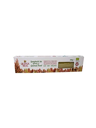 Espaguetis de arroz y Quinoa - Quinua Real - 250 gr.