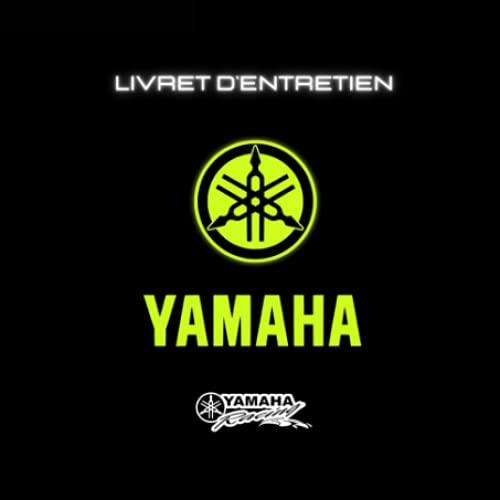 Carnet / Livre de suivis entretien mecanique Yamaha moto scooter mt 07 mt 09 R1 R3 R6 FZ1 FZ8 XJ6 Ténéré 700 600 MT 125 03 YZF TRACER 700 900 GT FJR 1300 FAZER TMAX 560 530 500 XMAX accessoire