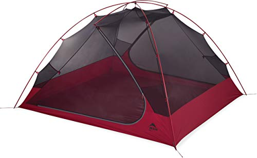 MSR Zoic 1-Person Lightweight Mesh Backpacking Tent with Rainfly, Red