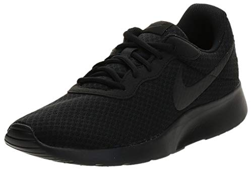 Nike Mens Tanjun Running Sneaker Black/Anthracite/Black 10.5