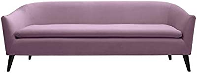 Amazon.com: Zuri Furniture Modern Armondo Sofa in Two Tone ...