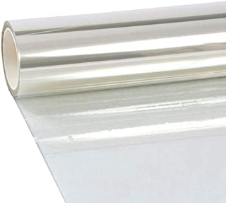 VViViD Clear Protective 4mil Vinyl Window Glass Wrap Shatterproof Security Film Large Window Roll (30 Inch x 10ft)