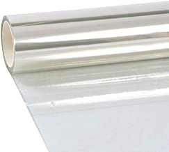 VViViD Clear Protective 4Mil Vinyl Window Glass Wrap Shatterproof Security Film 17.75 Inches x 60 Inches Roll