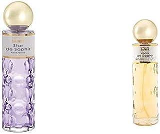 PARFUMS SAPHIR Star, Eau de Parfum con vaporizador para Mujer, 200 ml + Vida, Eau de Parfum con vaporizador para Mujer, 20...