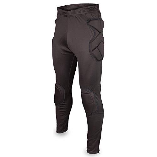 Mannen sport voetbal lange broek Crashproof Keepersbroek gevoerde broek keeperbroek