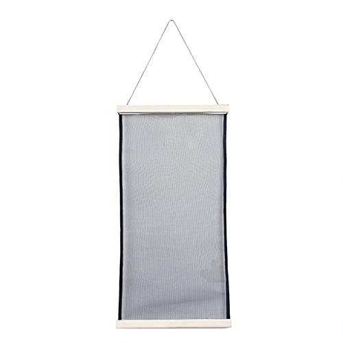 PHILSP Soporte de pared para pendientes de exhibición de joyas, organizador de pendientes, tela de malla para colgar en la pared, práctico