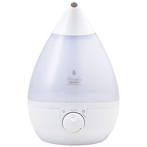 アピックス 超音波式アロマ加湿器 SIZUKU touch ホワイト FSWD-1200WH