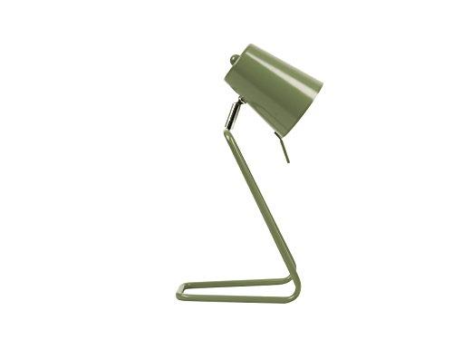 Leitmotiv LM1188 Lampe de Table Z Métal 25 W E14 Vert