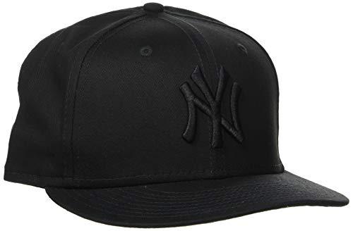 New Era Unisex Cap MLB 9fifty NY Yankees, Schwarz/Schwarz, S/M, 11180834