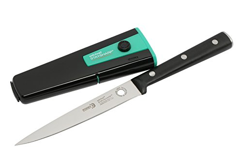 Wiltshire StaySharp Utility Knife - 13cm - With Sharpener/Sheath