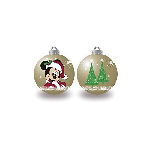 ARDITEX WD13423 Pack de 6 Bolas árbol de Navidad diámetro