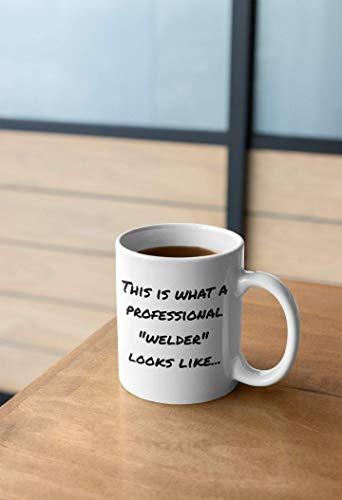 N\A Regalos de Soldador Taza de café Grande Regalo de Nuevo Trabajo Regalos corporativos Regalo de Mentor Fiesta de jubilación Taza Personalizable Tazas de Regalo de colega con Refranes