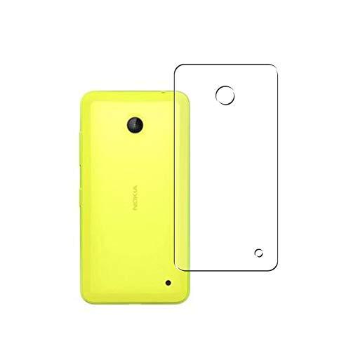 Vaxson 2-Pack TPU Pellicola Protettiva Posteriore, compatibile con NOKIA Lumia 635/630, Back Film Protector Skin Cover Copertina [ Non Vetro Temperato ]