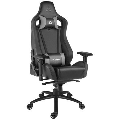 Alpha Gamer Polaris Racing Gaming Chair parte Asiento, color negro