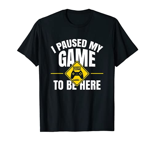 I paused my game, Gaming, eSport, Spiel, gamer