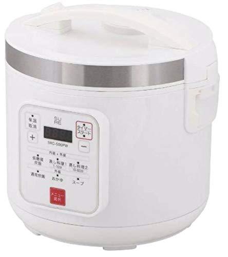 SURE(石崎電機製作所)『低糖質炊飯器(SRC-500PW)』