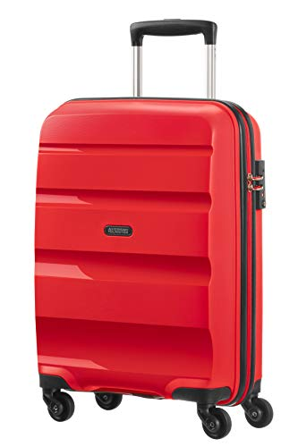 American Tourister Bon Air - Spinner S Equipaje de mano, 55 cm, 31.5 liters, Rojo (Magma Red)