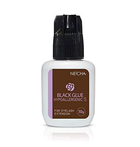 Neicha Hypoallergenic S Type Eyelash Extension Glue Lijm | Wimperextensions lijm | Professionele Ultrasnelle Hypoallergene Wimperlijm | Sensitive Eyelash Glue (10g)
