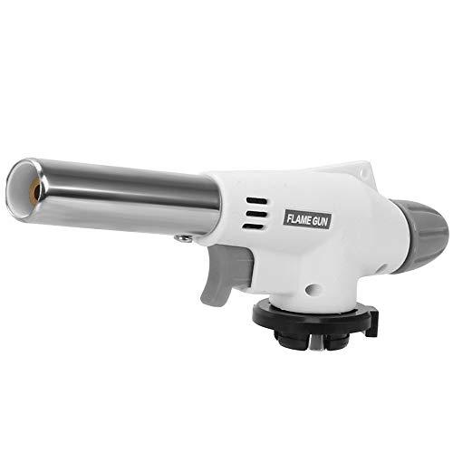 Heizung Fackel Flamme Gun Schweißen Gas Ignition Lighter Metallgewehr Fackel-Butan-Gas-Schweißbrenner for das kampierende Wandern Tragbarer Qualitäts-Beruf