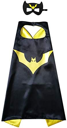 Superhero Capes and Mask for Kids Gift Character Costume Toy for Birthday Christmas Party Supplies product image
