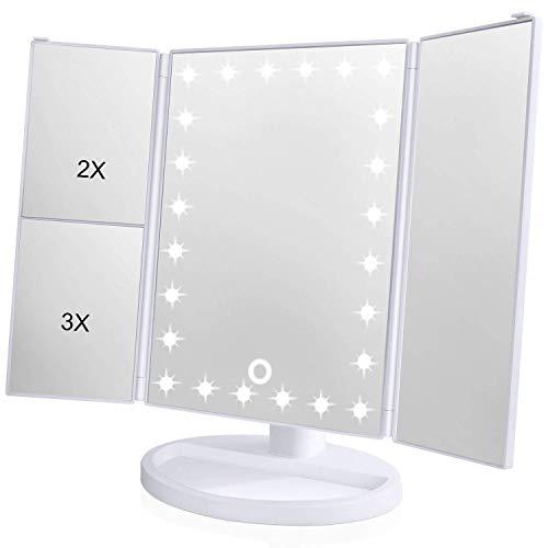 espejo aumento con luz fabricante Skyera