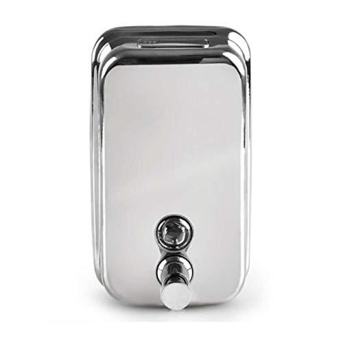 Dispensadores de loción y de jabón 500/800 / 1000ML montado en pared de baños Dispensador de jabón Acero Inoxidable Botella de ducha de acero inoxidable dispensador de jabón Dispensadores de loción y