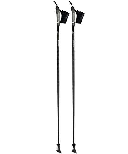 Komperdell Carbon Classic Black Gehstock, Unisex Erwachsene, Unisex-Erwachsene, 1482316-10.S19, Schwarz, 120