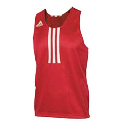 ADIDAS Clubline Box Top Vest (rood/wit), XL