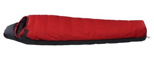 ナンガ(NANGA) オーロラ450DX レギュラーサイズ RED/BLK 日本製 最低使用温度-11度 AURORA450DX R/B