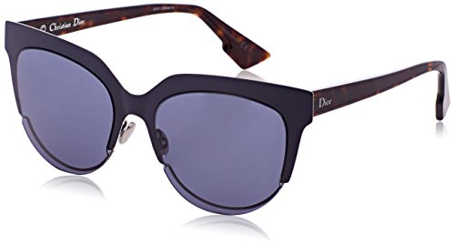 Dior DIORSIGHT2 72 Rey Gafas de sol, Azul (Mtdkbluee Hvn/Bluette), 54 para Mujer