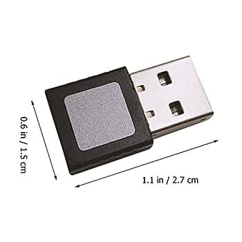 SOLUSTRE USB Lecteur D'empreintes Digitales pour Windows 10 Bonjour D'empreintes Digitales Scanner De Sécurité Windows Clé Biométrique Mot de Passe Livraison pour PC Ordinateur Portable