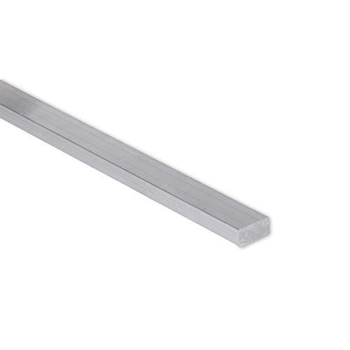 Remington Industries 0.25X1.0FLT6061T6511-12 1/4' x 1' Aluminum Flat Bar, 6061 General Purpose Plate, 12' Length, T6511 Mill Stock, Extruded, 0.25' Diameter