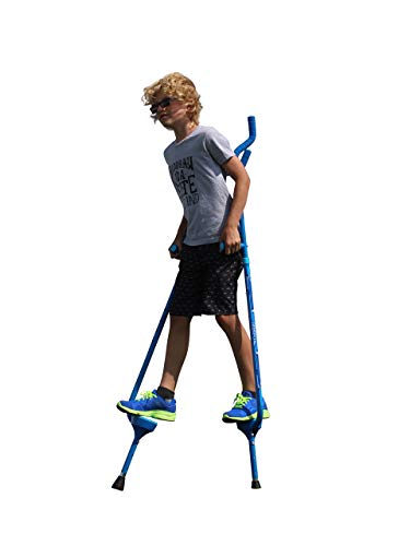 Flybar Master Walking Stilts for Kids Ages 10 +, Weights Up to 200 Lbs - Adjustable Height with Foam Handles & Shoulder Rests - Fun Outdoor Toys for Girls & Boys