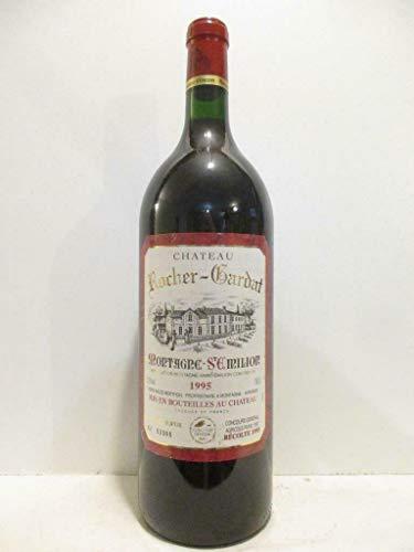 magnum 150 cl montagne saint-émilion château rocher-gardat rouge 1995 - bordeaux