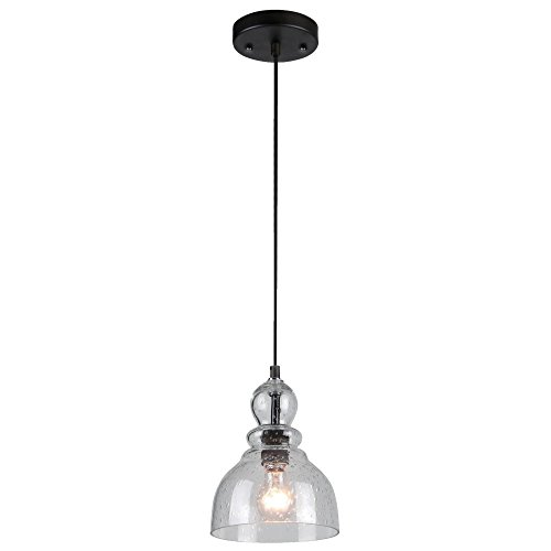 Westinghouse Lighting 6100800 Fiona One-Light Indoor Mini Pendant, Oil-Rubbed Bronze