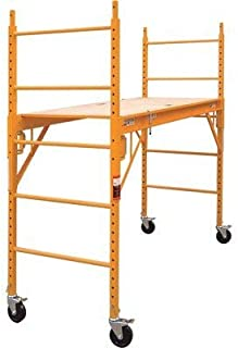 CBM scaffold Multipurpose 6'. Baker-Style Scaffold - 1, 000-Lb. Capacity, Steel, Model# MFSSteel