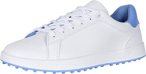 Callaway Women's Del Mar Golf Shoes, White/Blue, 6.5, B