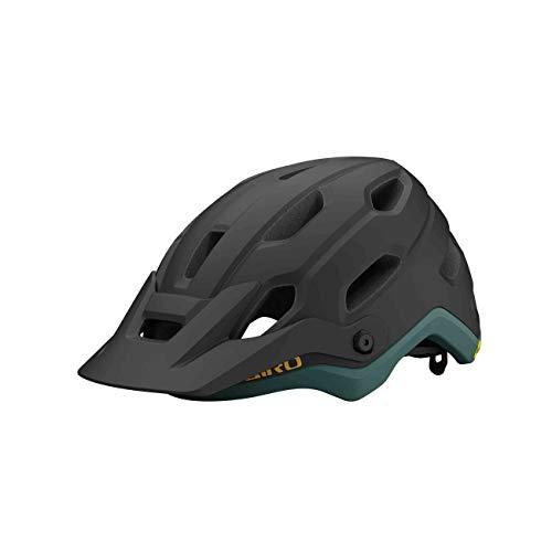 Giro Source MIPS All Mountain 2021 - Casco para bicicleta de montaña (55-59 cm), color negro y verde