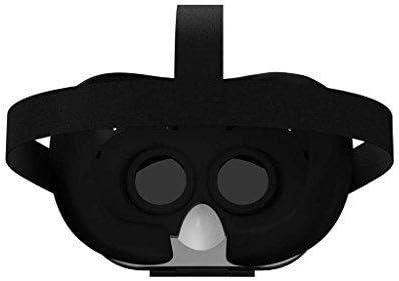 AS SEEN ON TV! Dynamic Virtual Viewer (DVV) 3D Glasses | Smartphone Video Virtual Reality VR Headset Player -- (Black/White) IOS