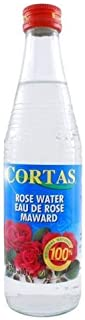 Cortas Rose Water, 10-Ounce Bottles (Pack of 4) by Cortas [Foods]