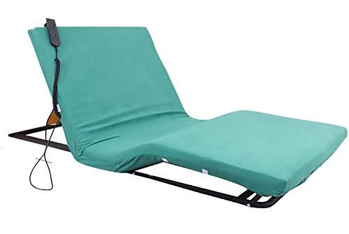 SSDM Häusliches Pflegebett Für Ältere Menschen, Elektrische Bettpflegematratze, Rückenlehnenrahmen, Gelähmte Patienten Zum Aufstehen Automatisches Heben des Boosters