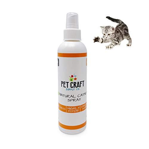 Pet Pet Craft Supply Premium Potent Catnip Spray- USA Grown & Harvested Large 8oz Spray