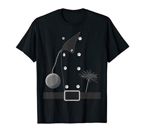 Lustige Schornsteinfeger Kostüm Idee Karneval Fasching T-Shirt