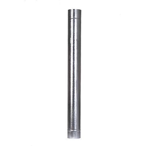 Ofenrohr 100cm Galvanisiert Rauchrohr Kaminrohr Schornstein Rohr Pelletrohr (150 mm)