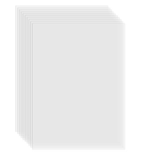 Fesjoy 3D Resin Printer, FEP Film Transparent Release Film Sheet 280 * 200mm Thickness 0.1mm High Transmittance Strength Compatible with Wanhao D8 D7 DLP Photon SLA UV Resin 3D Printer, 1pc