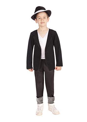 Superstar. Black Jacket/Trousers (L) costume Kids Fancy Dress